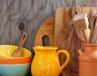 cucina utensili tagliere