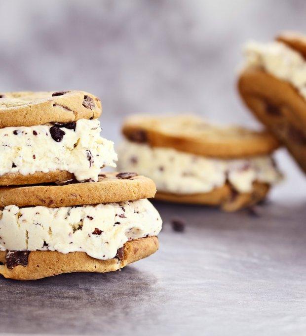 ricette dolci, gelato biscotto, estate