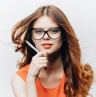 occhiali, forma viso, scegliere montatura