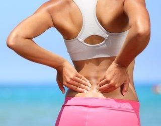 Massaggio di una vita a osteochondrosis indipendentemente