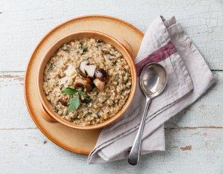 risotto con funghi surgelati | donnad - Come Cucinare I Funghi Surgelati