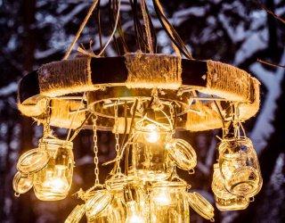 Lampadari fai da te semplici 3 idee donnad for Costruire casa risparmiando