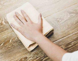 Come pulire il legno tecniche per detergere e sbiancare - Pulire porte legno ...