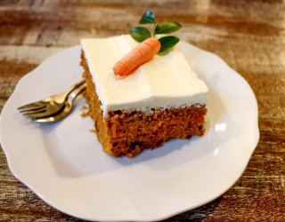 dolci senza glutine, torta carote, ricette