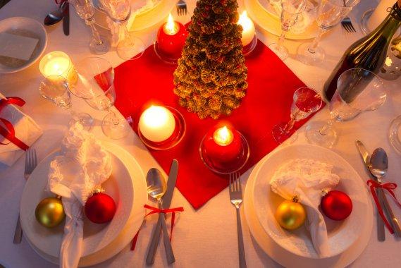 Colori e atmosfere per la tavola di natale donnad - Addobbare la tavola per natale ...