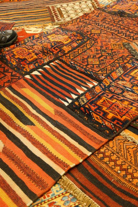 Il tappeto annodato a mano donnad - Amazon tappeti ingresso ...