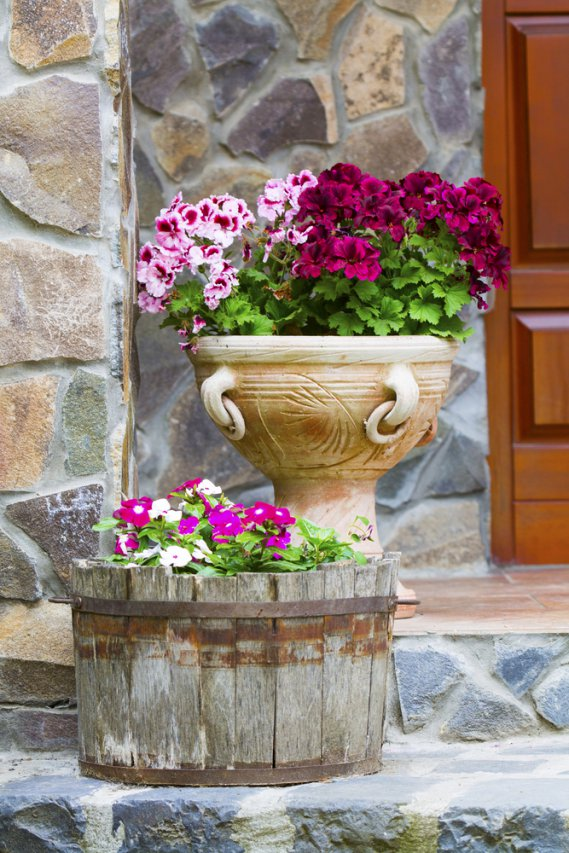 Il vaso giusto per le tue piante donnad - Vasi ceramica esterno ...