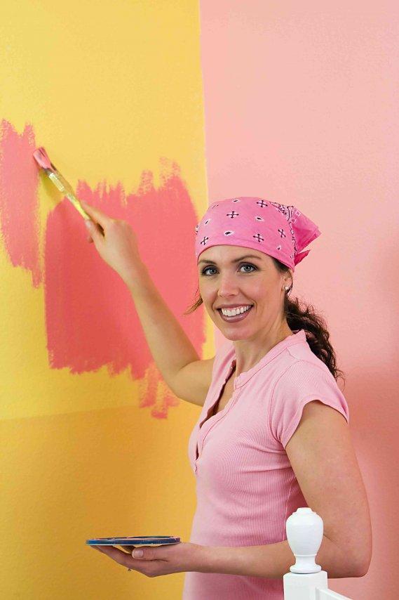 Come pitturare la camera da letto donnad - Colori x pitturare camera da letto ...