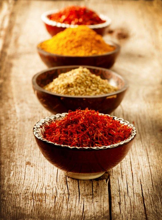 Dimagrire con le spezie donnad - Le spezie in cucina ...