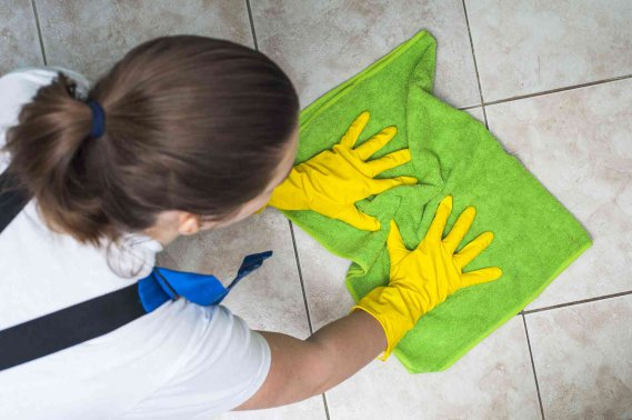 Come pulire il gres porcellanato donnad - Come pulire casa ...