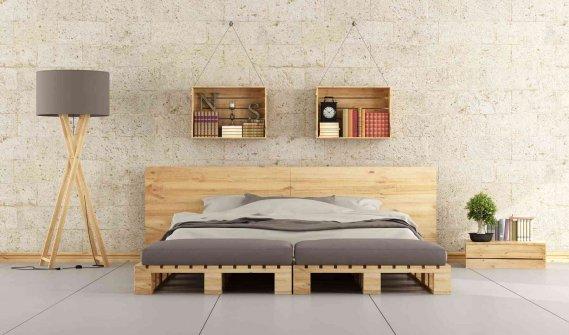 Mobili Con Pallets : Mobili fatti con pallet vendita un letto con i pallet ecco idee