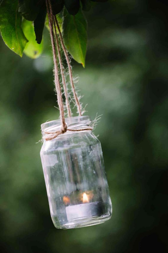 3 idee per lanterne portacandele fai da te donnad - Portacandele natalizi fai da te ...