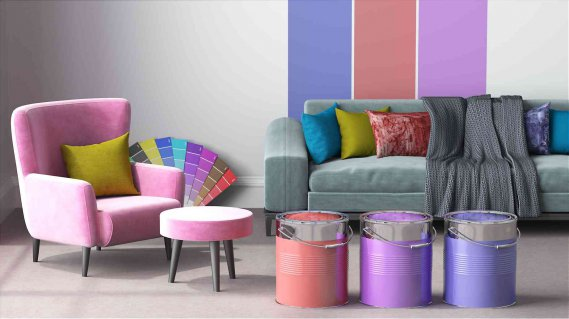 Come tingere e colorare un divano donnad - Tingere tessuti divano ...