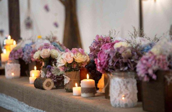 Fiori per matrimonio quali scegliere per addobbi e for Addobbi tavoli matrimonio con candele