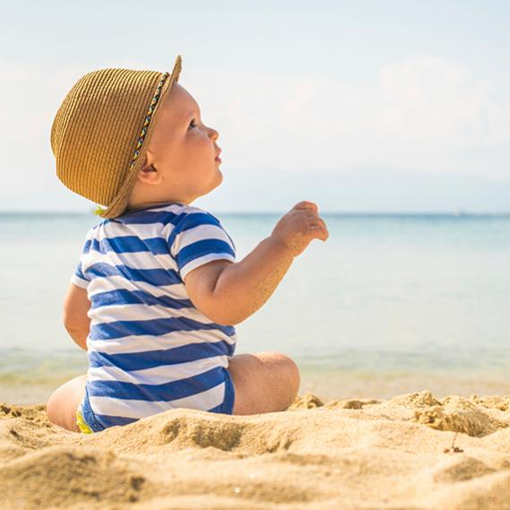 Al mare regole per i pi piccoli donnad - Foto di bambini piccoli ...
