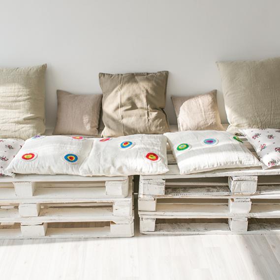 8 oggetti da riciclare per arredare casa donnad for Oggetti per arredare
