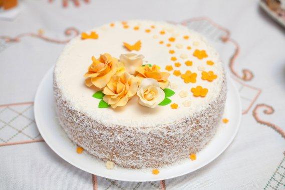 Torte per il compleanno della mamma 7 decorazioni in for Decorazioni per torta 60 anni