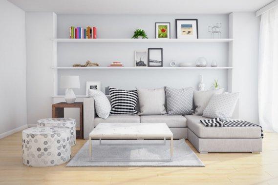 Come arredare un soggiorno piccolo in modo moderno | DonnaD