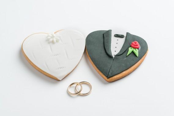 Segnaposto Matrimonio Pasta Di Zucchero.Biscotti Segnaposto Nozze Fai Da Te Donnad