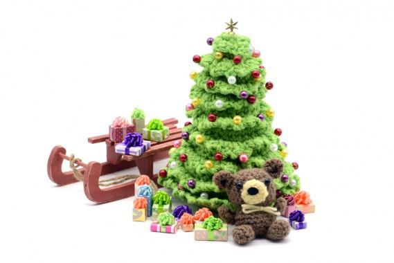 Albero Di Natale Uncinetto Esecuzione.L Albero Che Vuoi Fare Donnad