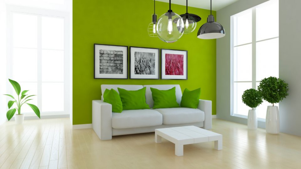 Arredare casa col colore pantone 2017 greenery donnad for Colori soggiorno 2017