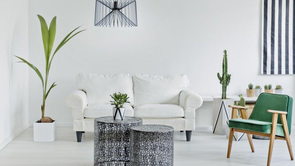 Casa d 39 inverno come inserire il bianco nell 39 arredamento for Arredamento casa bianco