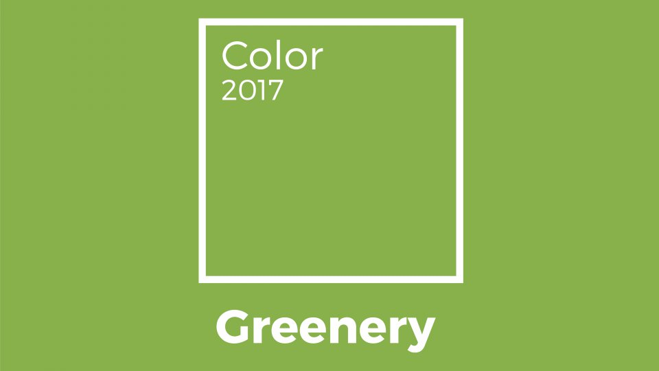 Verde greenery colore pantone del 2017 il look donnad for Verde pantone 2017