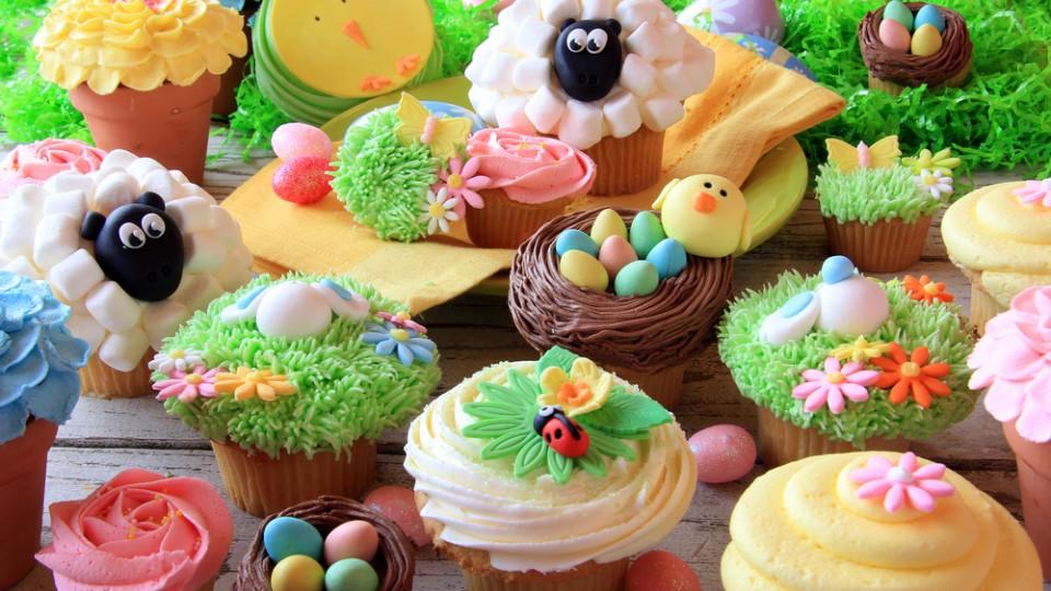 cupcake pasqua, cake design pasqua