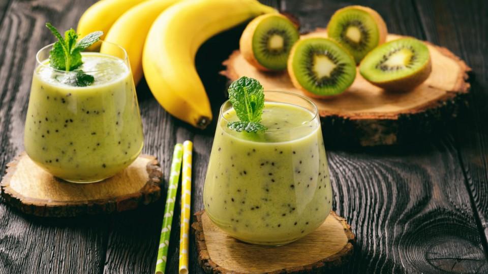 frullati, banana, kiwi