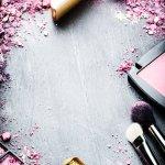 colori, estate, makeup