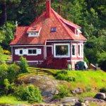 casa al lago