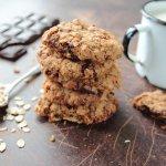 cookies biscotti fiocchi avena cioccolato