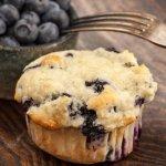 muffins mirtilli olio