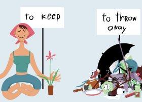 Decluttering: le 5 regole per fare spazio in casa buttando il superfluo