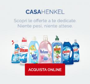 Acquista i tuoi prodotti preferiti su Casa Henkel