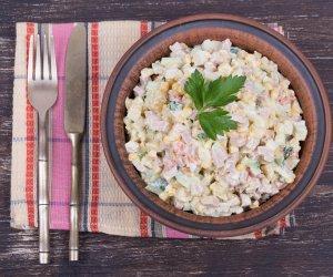 insalata russa pollo patate carote maionese olive
