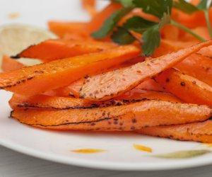 cucina vegana, finto bacon, carote