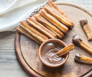 ricette vegane, dolci, churros spagnoli