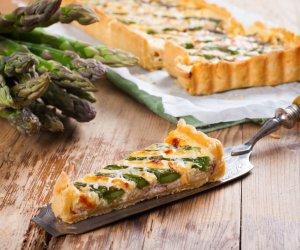 torta salata, ricette cucina, asparagi