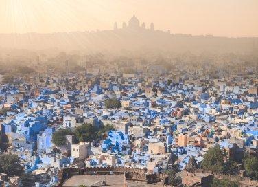 India rajasthan viaggi traffico