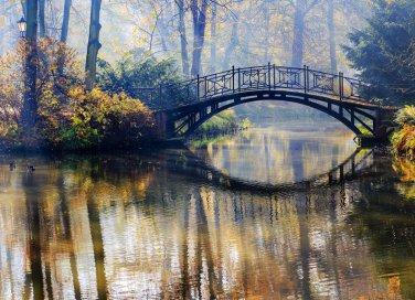 ponte, passaggio, ponticello, cavalcavia, attraversamento sogno