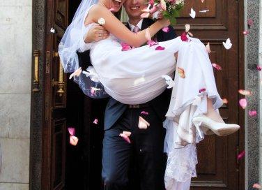 dopo cerimonia sposi