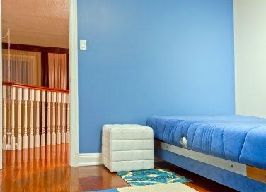 salotto color azzurro