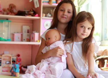 stanza di due bambine