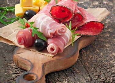 affettati salumi formaggio verdura frutta piatto freddo cucina