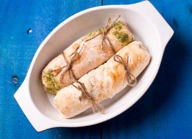 involtini pollo robiola zucchine prosciutto