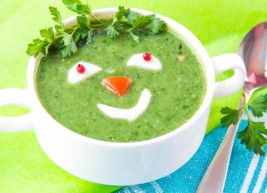 Piatto di verdure per bambini