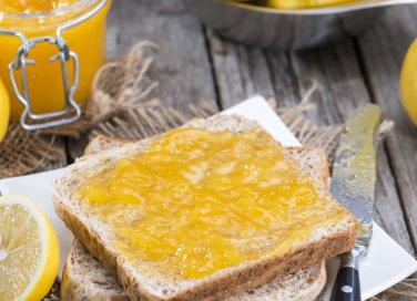marmellata gelatina limoni senza buccia