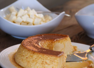 Pudim de queijo (budino di formaggio di Capo Verde)