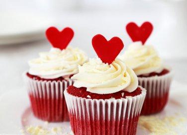 Cupcake San Valentino: Red Velvet (USA)